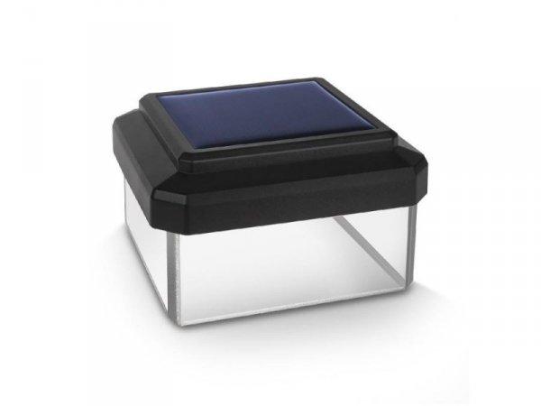 Lampa solarna GreenBlue GB127 na słupek LED 80*80 daszek kopertowy