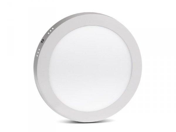 Panel LED Led4U LD155C natynkowy slim 18W Cold white 5500-6500K  Fi225*H40mm