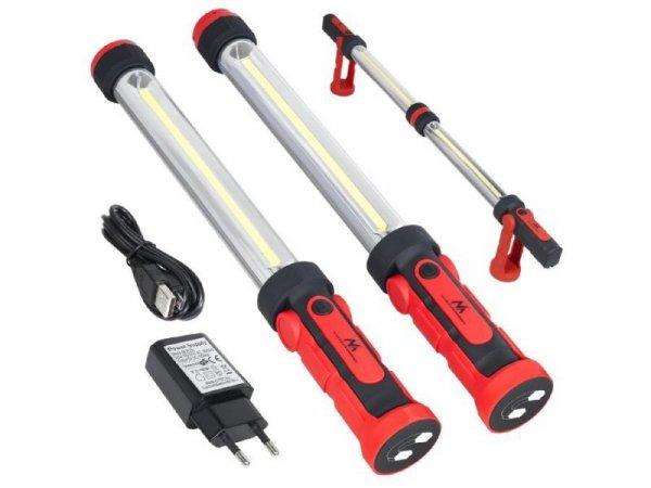 Lampa warsztatowa Maclean MCE230 LED XXL COB 2szt lampy z możliwością łączenia