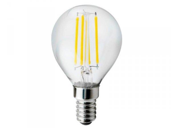 Żarówka filamentowa LED E14 Maclean MCE281 WW 4W 230V ciepła biała 3000K 400lm retro edison ozdobna
