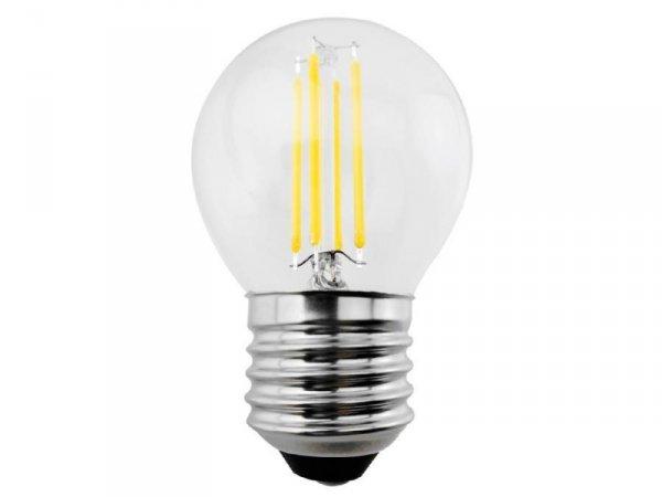 Żarówka filamentowa LED E27 Maclean MCE283 WW 4W 230V ciepła biała 3000K 400lm retro edison