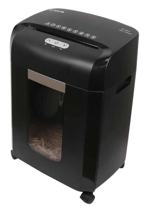 Niszczarka ścinkowa Olympia CC 415.4  czarna