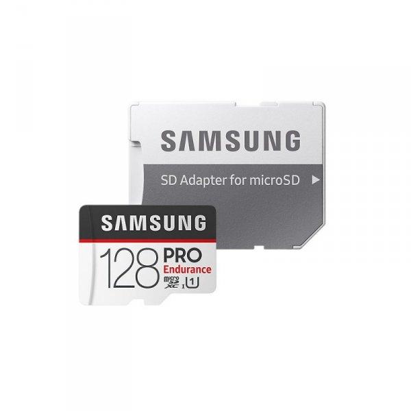 Samsung karta pamięci PRO Endurance microSDXC 128GB UHS-1 + adapter