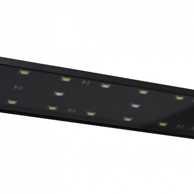 Lampa LED do akwarium, z zaciskami, 75-90 cm, niebiesko-biała