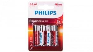 Bateria alkaliczna LR6 / AA 1,5V POWER ALKALINE LR6P4B/10 /blister 4szt./