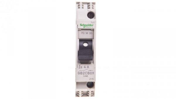 Wyłącznik termo-magnetyczny 1P 4A 6kA AC GB2CB09