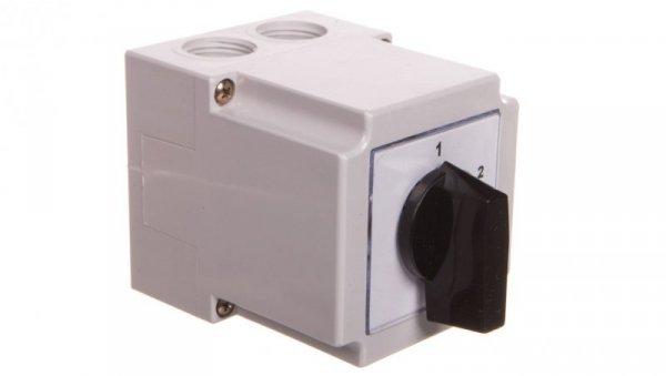 Łącznik krzywkowy 1-2-3 2P 10A w obudowie 4G10-86-PK
