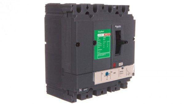 Wyłącznik mocy 50A 4P 36kA EasyPact CVS100 TM50D LV510354