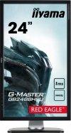 IIYAMA G-MASTER RED EAGLE GB2488HSU-B3 24 1ms 144Hz FreeSync + MYSZKA V7m