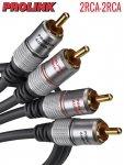 Kabel RCA PROLINK EXCLUSIVE 10m 2RCA pozłacane