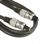 Kabel Toslink PROLINK Exclusive S/PDIF 0,5m pozłacany