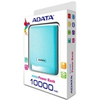 ADATA PV150 Power Bank 10000mAh 2.1A LED - Niebieski