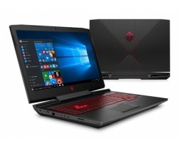 HP Omen 17-an007nw i7-7700HQ/8GB/128GB SSD + 1TB HDD/DVD-RW/Win10 GTX1050Ti-4GB