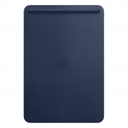 Apple Leather Sleeve - Skórzany futerał do iPad Pro 10,5 - Midnight Blue (nocny błękit)