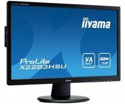 IIYAMA  X2283HS-B1DP 21.5'' VA Disp.Port USB