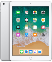 Apple iPad 6-gen 9,7 128GB Wi-Fi Silver