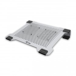 i-tec Aluminium Laptop Cooling Pad – Podstawka chłodząca z dwoma regulowanymi wentylatorami