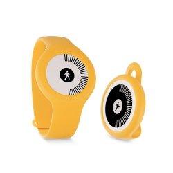 Withings Go - monitor aktywności fizycznej i snu z wyświetlaczem E Ink (żółty)