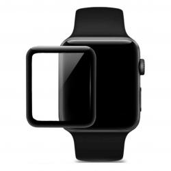 HOCO 4D Black-Rim Glass - Hartowane szkło ochronne do zegarka Apple Watch 42mm