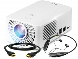 !!! PROMOCJA + Słuchawki o wartości 300zł !!! Projektor LG Electronics PF1500G 1400AL 150.000:1 FullHD 2xHDMI