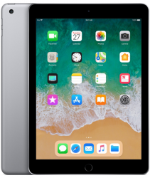 Apple iPad 6-gen 9,7 128GB Wi-Fi Space Gray