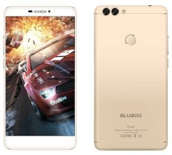 Smartfon Bluboo Dual 2GB 16GB (złoty) POLSKA DYSTRYBUCJA Etui+folia