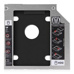 KIESZEŃ ADAPTER NA DODATKOWY DYSK HDD SSD