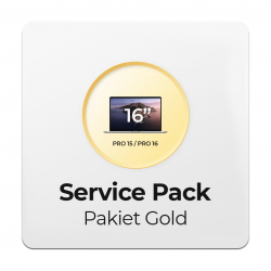 Service Pack - Pakiet Gold 2Y do Apple MacBook Pro 15/16 - 2 letni okres ochrony