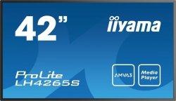 Monitor IIYAMA 42 LH4265S-B1 AMVA3 FullHD DAISY CHAIN Support, Light sensor