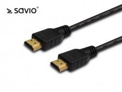 Kabel HDMI CL-05 2m czarny zloty v1.4 3D