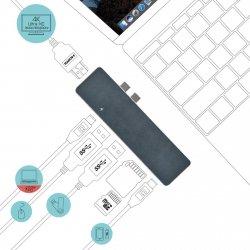 i-tec USB-C Metal Docking Station + Power Delivery do Apple MacBook Pro