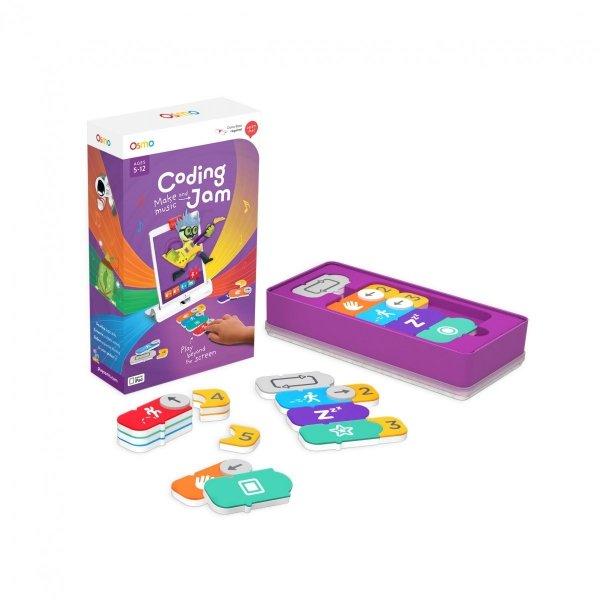 Osmo Coding Jam - gry do nauki programowania poprzez tworzenie muzyki (nie zawiera podstawki oraz reflektora)