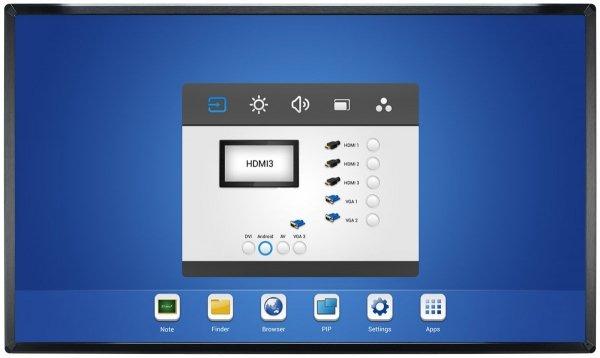Monitor IIYAMA 70 TH7067MIS-B2AG  UV²A  multi-touch  EASINOTE  24/7