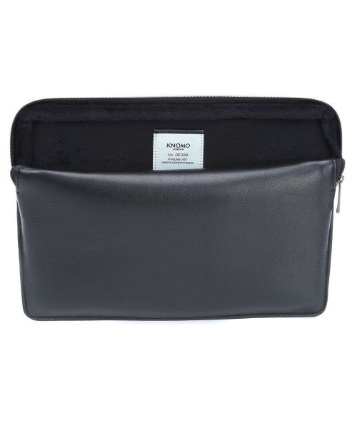 "Knomo Barbican Sleeve skórzany rękaw do MacBook Air 13"" / MacBook Pro 13"" Black (czarny)"