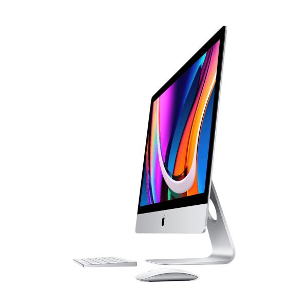iMac 27 Retina 5K / i5 3,3GHz / 16GB / 512GB SSD / Radeon Pro 5300 4GB / 10-Gigabit Ethernet / macOS / Silver (2020) MXWU2ZE/A/E1/16GB - nowy model