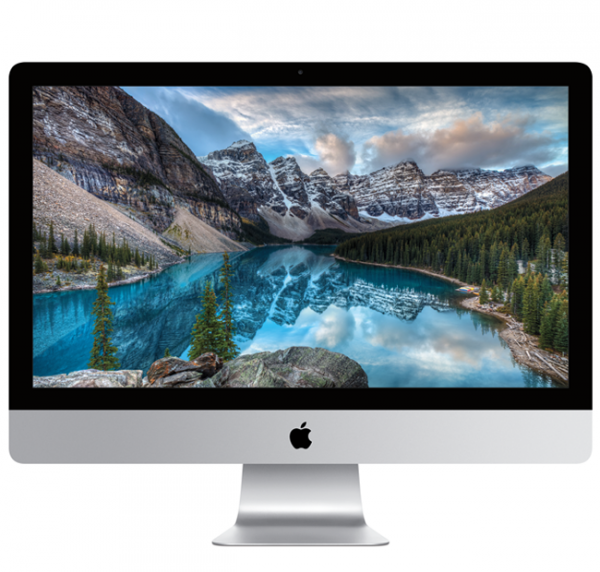 "iMac 27"" Retina 5K i5-7600K/8GB/3TB Fusion/Radeon Pro 580 8GB/macOS Sierra"