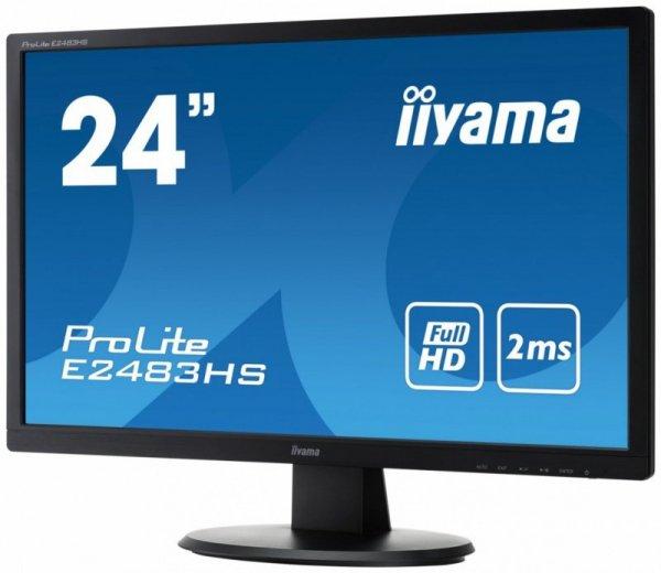 IIYAMA 24'' E2483HS-B3 FulHD LED HDMI DP
