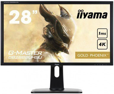 !!! Słuchawki SteelSeries GRATIS !!! IIYAMA G-MASTER GB2888UHSU 28 4K 1ms FreeSync Gaming