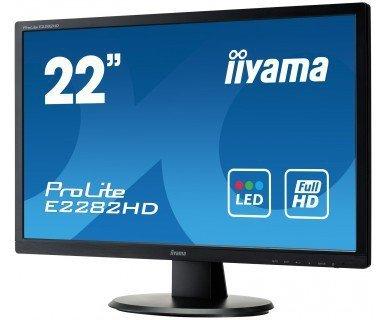 """IIYAMA E2282HD-B1 22"""" DVI DSUB"""