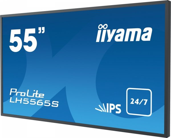 Monitor IIYAMA 55 LH5565S-B1 IPS FullHD DAISY CHAIN Support, Light sensor, 24/7