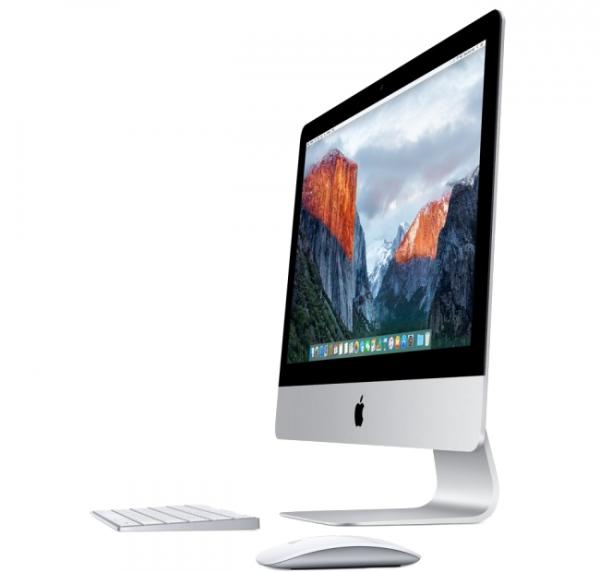 """iMac 21,5"""" Retina 4K i5-7400/8GB/1TB HDD/Radeon Pro 555 2GB/macOS Sierra"""
