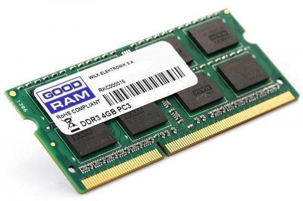 Pamięć RAM 4GB Goodram SO-DIMM DDR3 1600MHz CL11