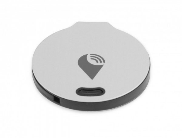 TrackR bravo - lokalizator Bluetooth z funkcją Crowd Locate iOS Android (wersja srebrna) 2 Pack