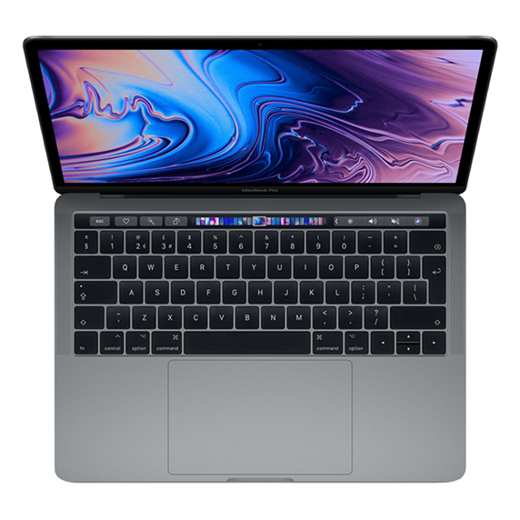MacBook Pro 13 Retina Touch Bar i7 1,7GHz / 16GB / 1TB SSD / Iris Plus Graphics 645 / macOS / Space Gray (2019)