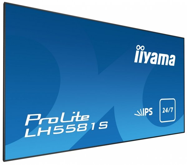 Monitor IIYAMA 55 LH5581S-B1 IPS FullHD DAISY CHAIN Support, USB Media Player, OPS, 24/7