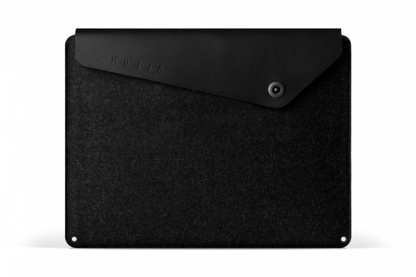 "Mujjo Sleeve Etui do MacBook Pro 15"" Black (czarny)"