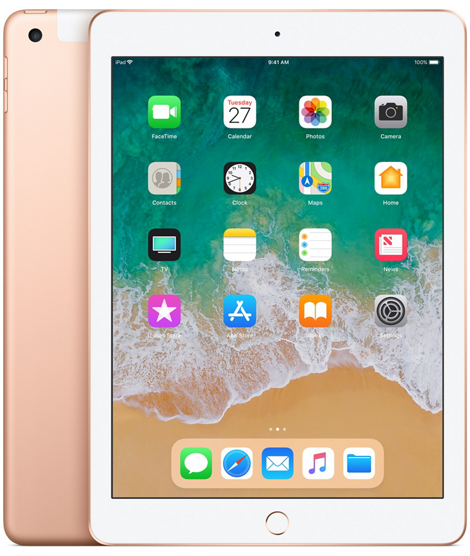 Apple iPad 6-gen 9,7 128GB LTE + Wi-Fi Gold