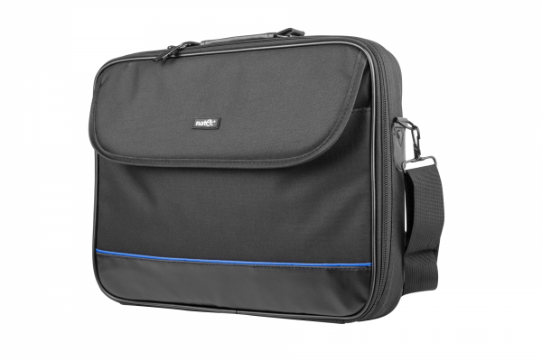 "Natec Torba na notebook 15,6"" Impala Black-Blue"
