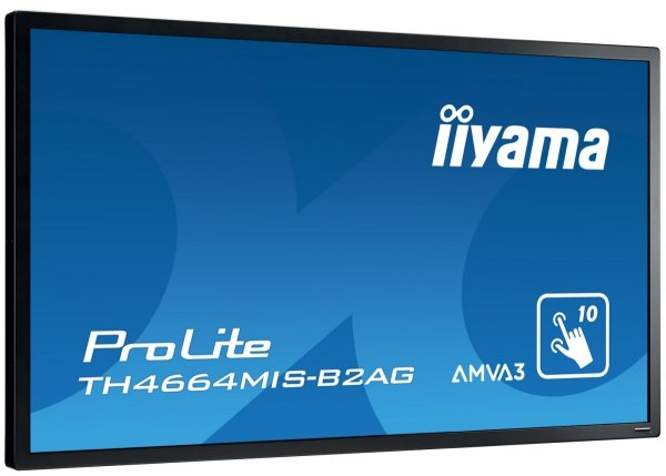 Monitor IIYAMA 46 TH4664MIS-B2AG AMVA FullHD PIP, light sensor, multi-touch