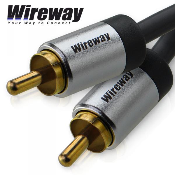 Kabel RCA Wireway 1m 1RCA
